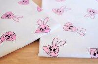 24/-粗挽天竺 Bunny (再入荷)